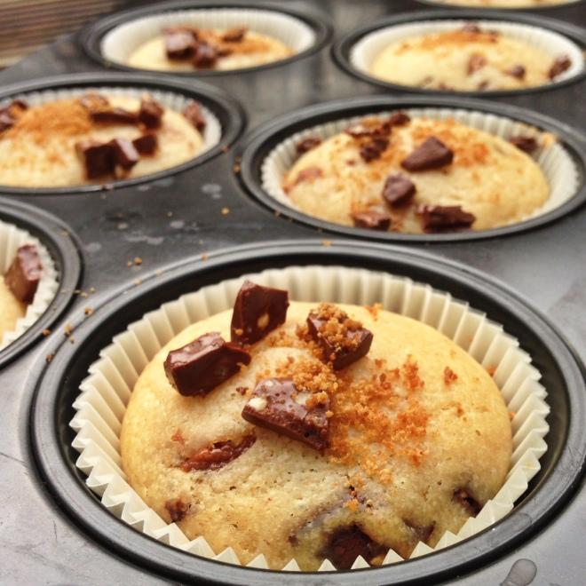 Joghurt-Nougat-Muffins